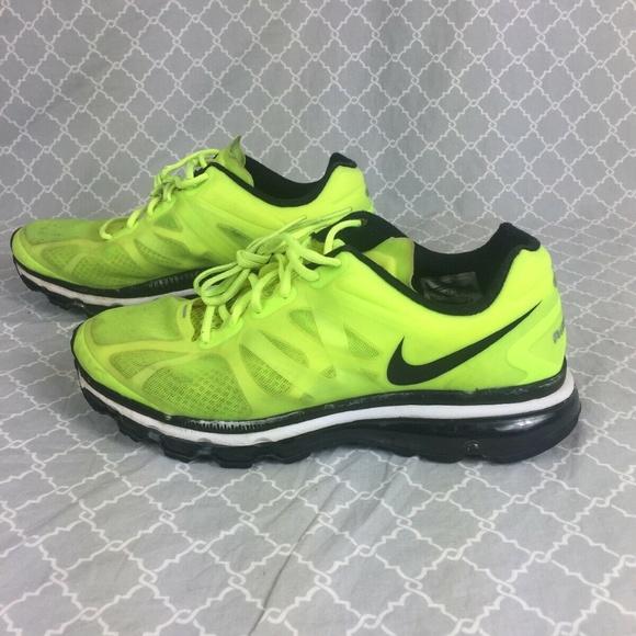 wholesale dealer 97f51 9f0cf Nike Air Max+ Running Shoes 487982-701, Volt Black.  M 5c6b5bef2e1478cabd7a5102